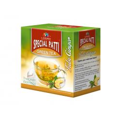 Sp. Patti Green Tea (Tulsi Ginger) -100g